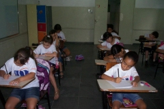 4º e 5º anos se preparando para a Prova do Canguru sem Fronteiras