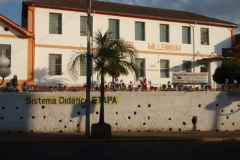 Colégio Millennium na Novena de Nossa Senhora Aparecida 2014
