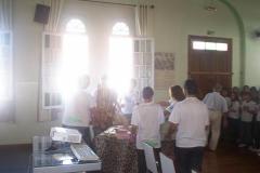 Visita da imagem de São Benedito