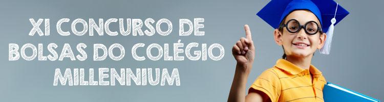 XI Concurso de Bolsas do Colégio Millennium