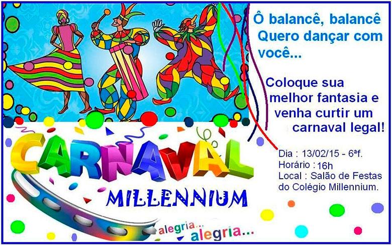 Carnaval 2015 no Millennium