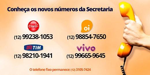 Conheça os novos números da Secretaria